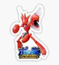 Pokken Tournament Scizor Sticker