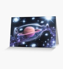 Saturn Return Greeting Card