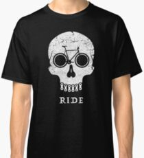 Bike Skull RIDE  Classic T-Shirt