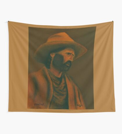 TENNESSEE SODBUSTER, Pastel Painting, for prints and products Wall Tapestry