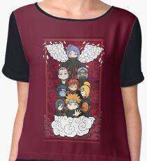 Naruto Akatsuki Chiffon Top