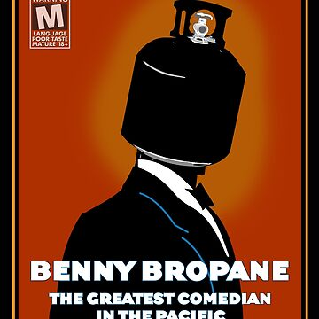 Benny Bropane the Greatest by GordyGrundy