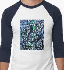 Mechanical Penguin Men's Baseball ¾ T-Shirt