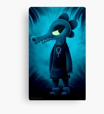 Bea Night in the Woods Canvas Print