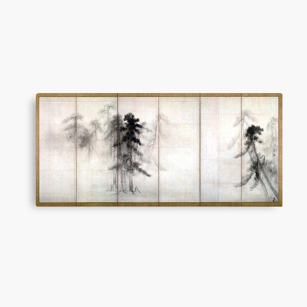 Hasegawa Tōhaku Pine Trees Canvas Print
