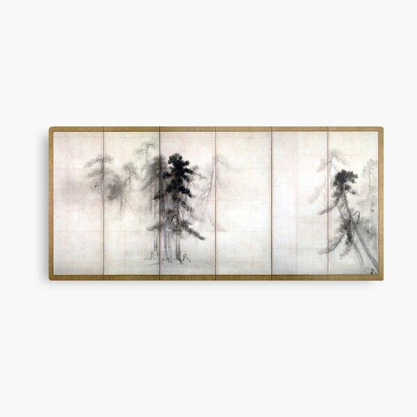 Hasegawa Tōhaku Pine Trees Metal Print
