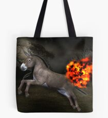 Flaming Ass Tote Bag