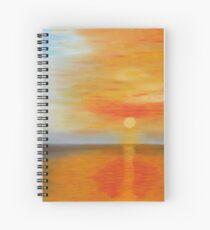 Ciel flamboyant - Blazing sky Cahier à spirale