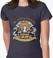 The League of Internet Cats Womens Fitted T-Shirt