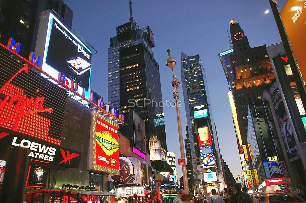 Times Square by SCPhotos