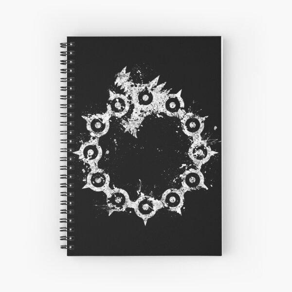 Seven Deadly Sins - Wrath  Spiral Notebook