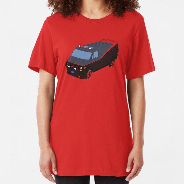 A Team Van - Negative Space Slim Fit T-Shirt