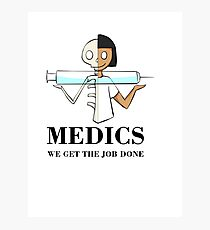 Medics Photographic Print