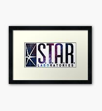 Galaxy S.T.A.R. Labs Framed Print