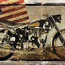 You Can Drive Vintage Motorcycle by mindydidit