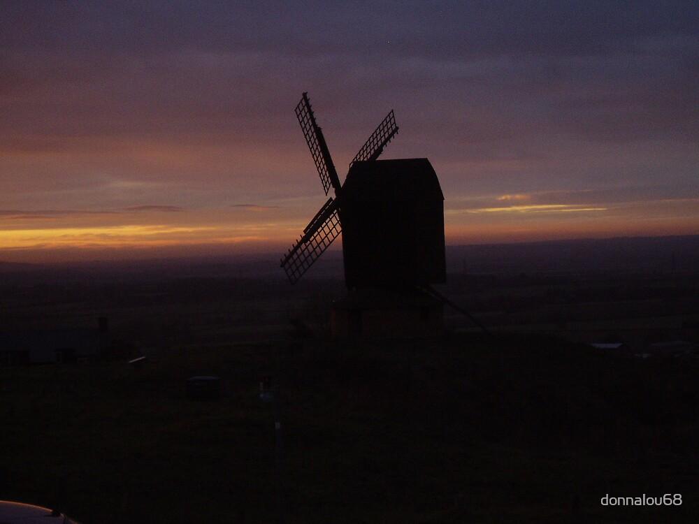 oxfordshire sunset by donnalou68
