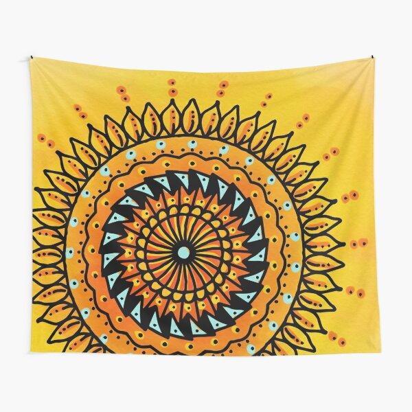 Summer Mandala Tapestry
