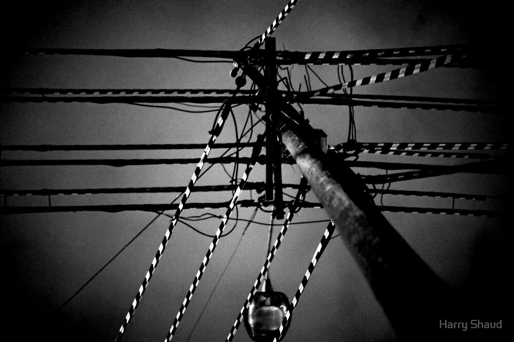Radial Wires by Harry Shaud