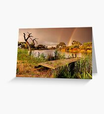 """""""A Golden Moment"""" Greeting Card"""