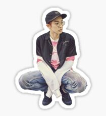 """Punky"", Chanyeol Stick Sticker"