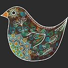 Bird with White Detail by WelshPixie