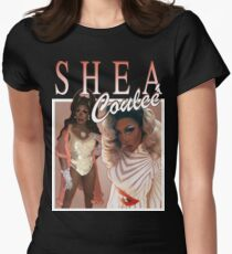 Throwback Shea Couleé Womens Fitted T-Shirt