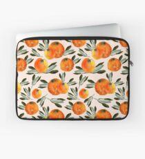 Sonnige Orange Laptoptasche