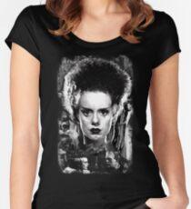 The Bride of Frankenstein Elsa Manchester Women's Fitted Scoop T-Shirt