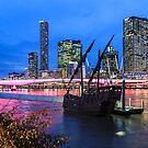 Notorious docked in Brisbane by David de Groot