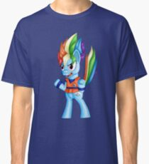 Super Pony Rainbow Dash Classic T-Shirt