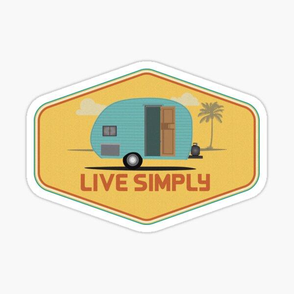 Simple Life - Sticker Sticker