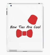 Doctor Who- Bow Ties Are Cool iPad Case/Skin