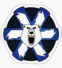 Ghost bear's pride Sticker
