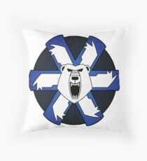 Ghost bear's pride Throw Pillow