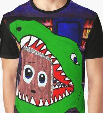 Beware the Bookworm Graphic T-Shirt