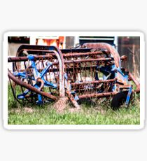 Old Farm Equipment Sticker