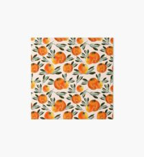 Sunny orange Art Board