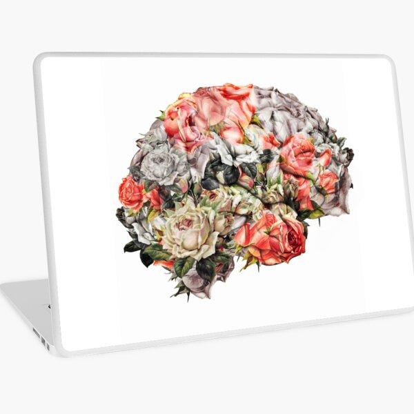 Flower Brain Laptop Skin