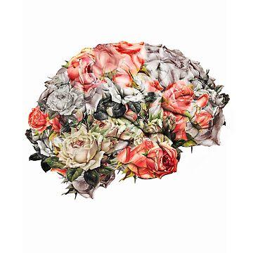 Flower Brain by kikicollagist