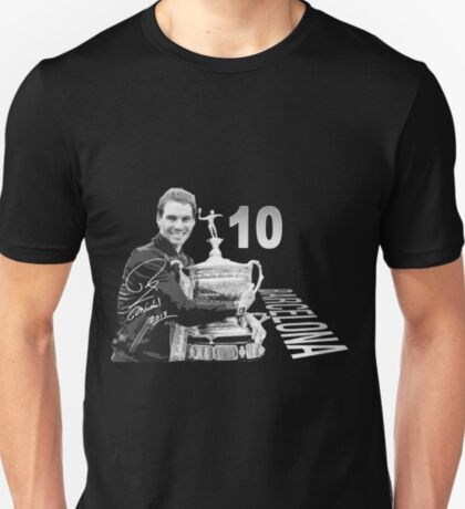 Rafa's tenth in Barcelona T-Shirt