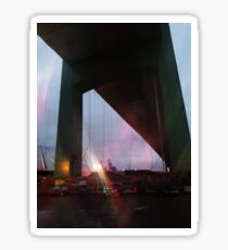 Night Bridge Sticker