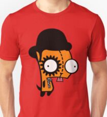 Orange invader Unisex T-Shirt