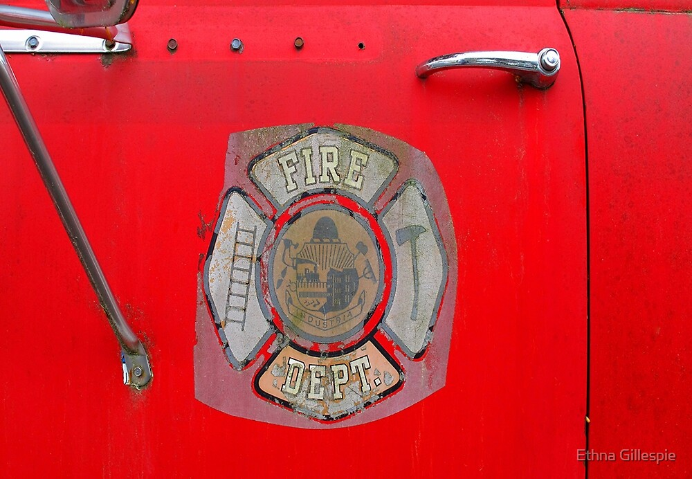Where's the Fire?  by Ethna Gillespie