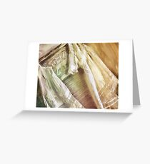 Vintage Laundry Greeting Card