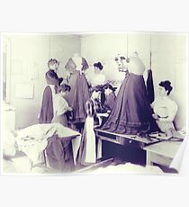 Vintage Seamstress Poster