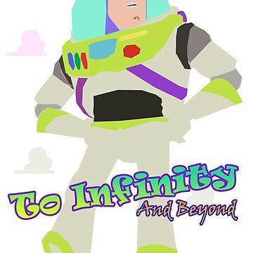 Vintage Buzz Classic Toy Story To Infinity  by shaz3buzz2
