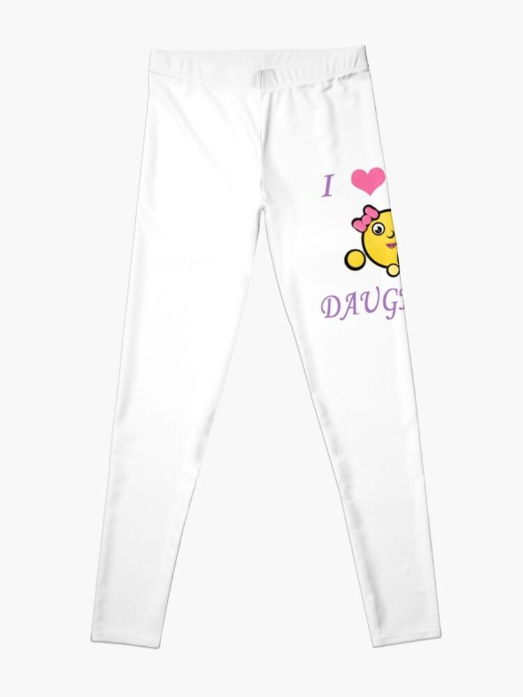 matériau sélectionné achat authentique vaste gamme de I <3 MA FILLE - Emoji fête des mères - Mère avec sa fille | Legging