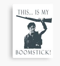 Boomstick! Canvas Print