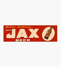 JAX BEER OF NEW ORLEANS Photographic Print