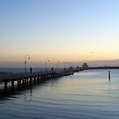 Sun Sets of Over St Kilda Pier   by Christine Wilson